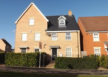 Thumbnail 4 bedroom semi-detached house to rent in Venus Avenue, Biggleswade