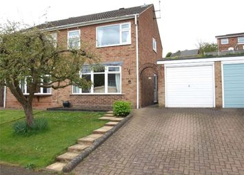 Thumbnail 3 bed semi-detached house for sale in Beaconsfield Road, Burton-On-Trent, Staffordshire