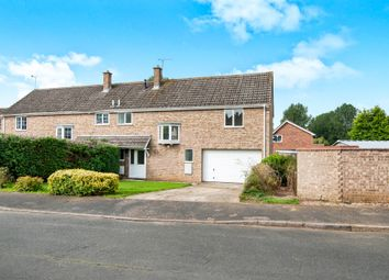 Thumbnail 4 bedroom semi-detached house for sale in The Lammas, Mundford, Thetford