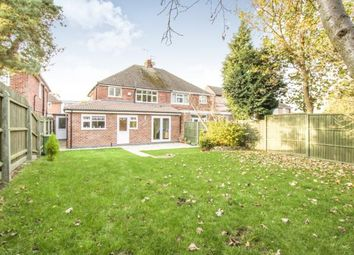 Thumbnail 3 bedroom semi-detached house for sale in Eastway Road, Wigston, Leicestershire