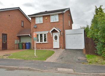 Thumbnail 3 bed detached house for sale in Elder Close, Heath Hayes, Cannock
