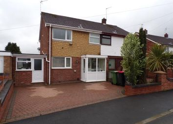 Thumbnail 3 bed semi-detached house for sale in Greendale Close, Atherstone, Warwickshire
