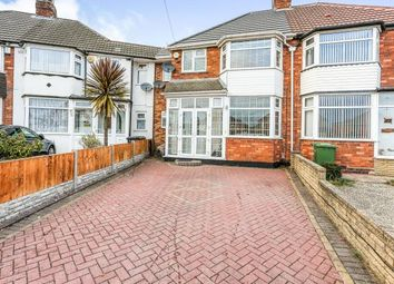 4 bed terraced house for sale in Wellsford Avenue, Solihull, West Midlands, Birmingham B92
