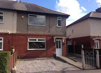 Thumbnail 3 bedroom semi-detached house to rent in Vale Avenue, Horwich, Bolton