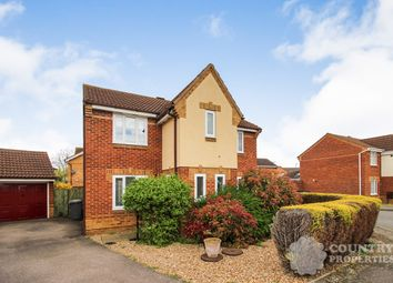 Thumbnail 3 bedroom detached house for sale in Marigold Way, Bedford