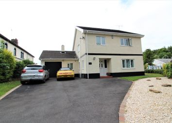 Thumbnail 4 bed detached house for sale in Station Road, Ruabon, Wrexham