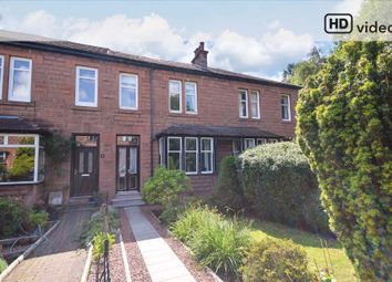 Thumbnail 3 bed terraced house for sale in Kendal Avenue, Giffnock, Glasgow