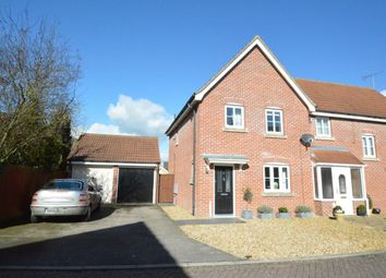 Thumbnail 3 bed semi-detached house to rent in Aragon Road, Haverhill