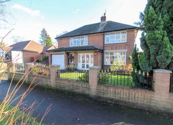 Thumbnail 3 bed detached house for sale in Kingsway, Bramhall, Stockport
