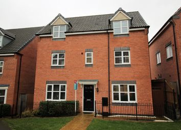 Thumbnail 4 bed detached house to rent in College Green Walk, Mickleover, Derby