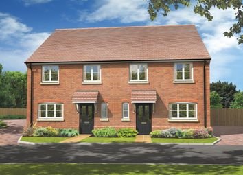 "Thumbnail 3 bed property for sale in ""The Mickleham"" at Basingstoke Road, Spencers Wood, Reading"