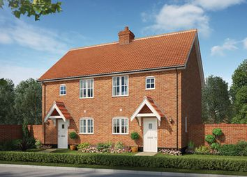 Thumbnail 2 bedroom semi-detached house for sale in St. Michaels Way, Wenhaston, Halesworth