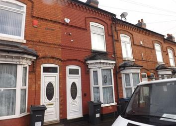 Thumbnail 3 bed terraced house for sale in Barrows Road, Birmingham, West Midlands