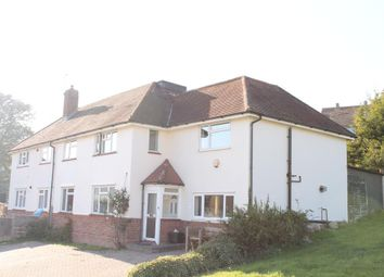 Thumbnail 1 bed semi-detached house to rent in Bodiam Avenue, Brighton, East Sussex