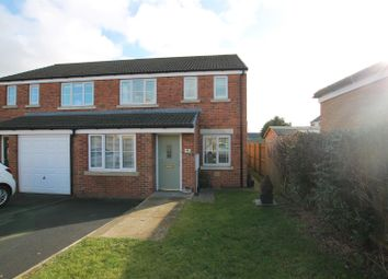 3 bed semi-detached house for sale in Deerness Heights, Stanley, Crook DL15