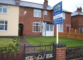 Thumbnail 2 bed terraced house for sale in Woods Lane, Burton-On-Trent, Staffordshire