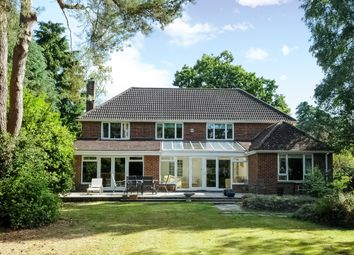 Thumbnail 5 bed detached house to rent in Kingsley Avenue, Camberley, Surrey