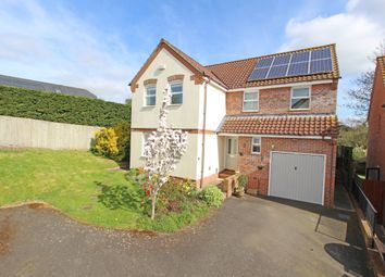 Thumbnail 4 bed detached house for sale in Barns Close, Bradninch