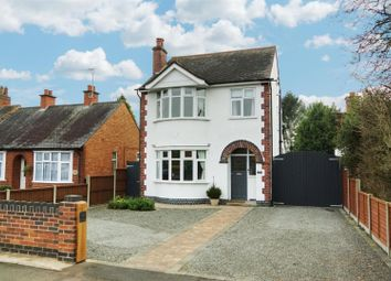 Thumbnail 3 bedroom detached house for sale in Grove Road, Blaby, Leicester