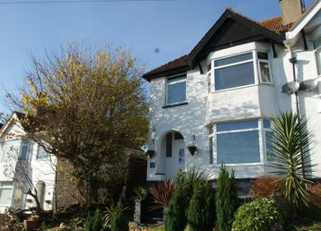 Thumbnail 3 bed semi-detached house for sale in David Road, Paignton, Devon
