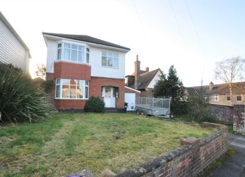 Thumbnail 3 bed detached house to rent in Pinewood Avenue, Northbourne, Bournemouth