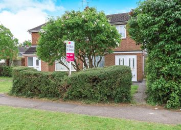 Thumbnail 3 bed semi-detached house for sale in Stour Close, Oadby, Leicester