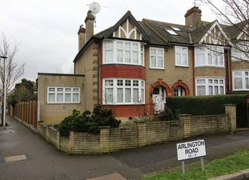 Thumbnail 3 bed end terrace house for sale in Arlington Road, Woodford Green