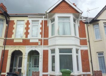 Thumbnail 4 bed terraced house to rent in Clodien Avenue, Heath, Cardiff