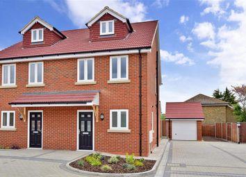 Thumbnail 4 bed semi-detached house for sale in Zara Court, Granary Close, Rainham, Gillingham, Kent