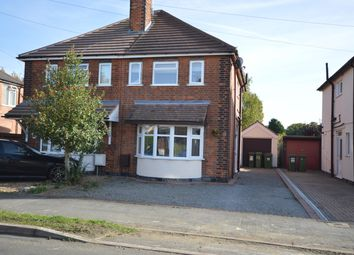 Thumbnail 3 bed semi-detached house for sale in Kings Drive, Leicester Forest East, Leicester