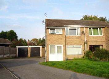 Thumbnail 1 bed town house for sale in High Meadow, Hathern, Leicestershire
