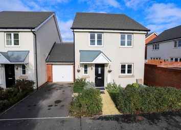 Thumbnail 4 bed link-detached house for sale in Tremlett Meadow, Cranbrook, Exeter