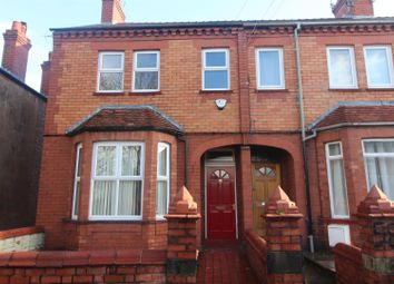 Thumbnail 4 bed terraced house to rent in Gerald Street, Wrexham