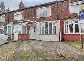 Thumbnail 2 bed terraced house for sale in Graham Avenue, Hessle Road, Hull
