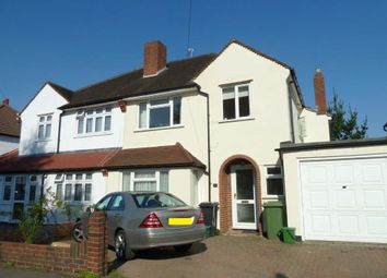 Thumbnail 3 bed semi-detached house to rent in Gosfield Road, Epsom