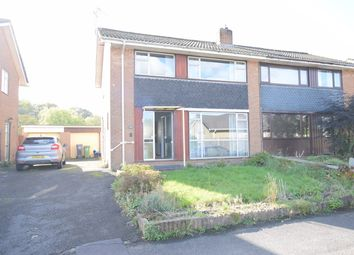 Thumbnail 3 bed semi-detached house for sale in Hafod Road, Ponthir, Newport