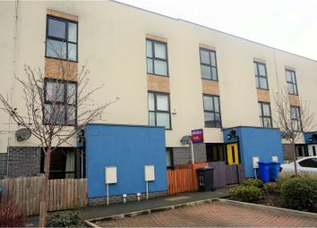 Thumbnail 3 bed town house for sale in Groves Avenue, Salford
