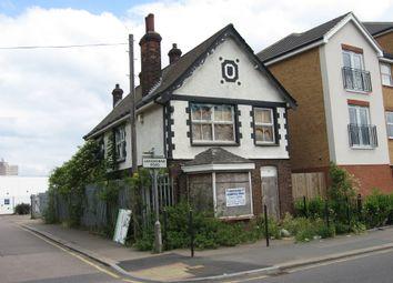 Thumbnail Block of flats for sale in Landsdowne Road, Tilbury