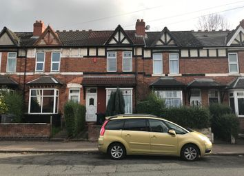 Thumbnail 3 bed terraced house to rent in Gravelly Lane, Erdington