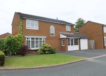 Thumbnail 4 bed detached house for sale in Newfield Park, Carlisle
