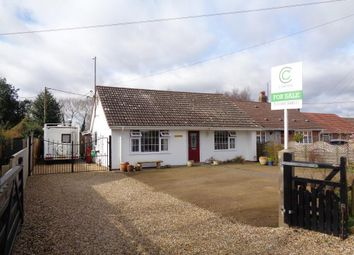 Thumbnail 2 bed detached bungalow for sale in The Cottons, Outwell, Cambridgeshire