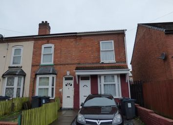 Thumbnail 3 bedroom end terrace house for sale in Birchwood Road, Balsall Heath, Birmingham, West Midlands