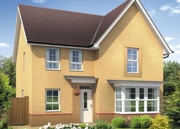 "Thumbnail 4 bed detached house for sale in ""Cambridge"" at Tregwilym Road, Rogerstone, Newport"