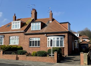 Thumbnail 5 bed semi-detached bungalow for sale in Charlton Road, Fulwell, Sunderland