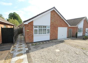 Thumbnail 2 bed detached bungalow for sale in Larch Drive, Lutterworth
