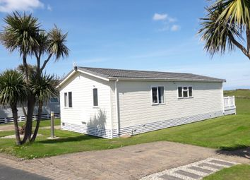 Thumbnail 2 bed mobile/park home for sale in Ocean Cove Coastal Retreat, Bossiney, Tintagel, Cornwall