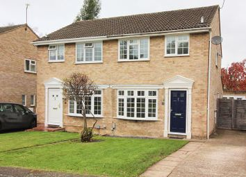 Thumbnail 3 bed semi-detached house for sale in Hadleigh Gardens, Frimley Green, Camberley