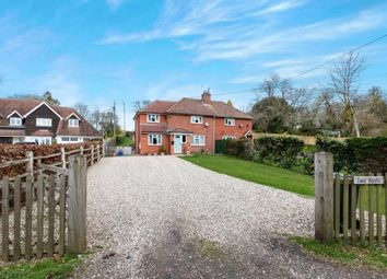 Thumbnail 4 bed semi-detached house for sale in Axford, Basingstoke, Hampshire