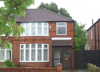 Thumbnail 3 bedroom property to rent in Brookleigh Road, Withington, Manchester