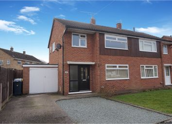 Thumbnail 3 bed semi-detached house for sale in Stokesay Avenue, Shrewsbury